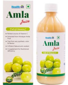 Healthvit Amla Juice  (500 ml)