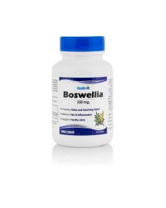 HealthVit Boswellia Powder 250 mg 60 Capsules (Pack Of 2) For Healthy Joints