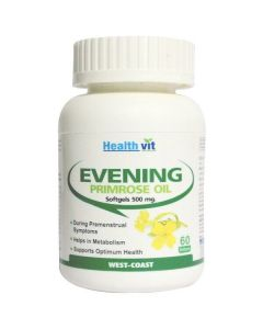 Healthvit Evening Primrose 500mg oil 60 Softgel