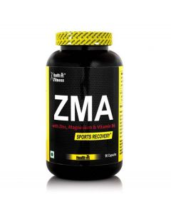 Healthvit Fitness ZMA Nightime Recovery Support - 90 Capsules