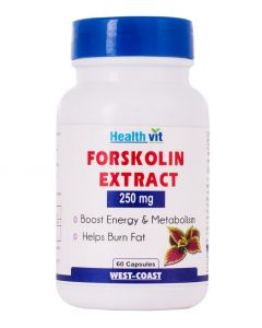 Healthvit Forskolin Extract  250mg 60 Capsules