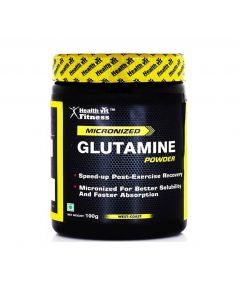Healthvit Fitness Glutamine Powder - 100 g (Unflavored)