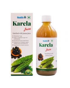 Healthvit Karela With Jamun Juice 500ml