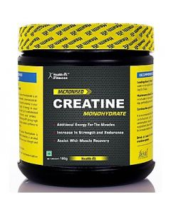 Healthvit Fitness Micronized Creatine Powder - 100 g (Unflavored)