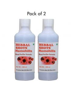 Hemohills Herbal Shots 500ml (Pack of 2)