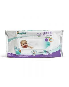 Himalaya Gentle Baby Wipes 72 Pieces