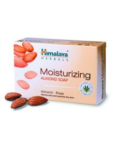 Himalaya Moisturizing Almond Soap 125 Gm
