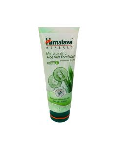 Himalaya Moisturizing Aloe Vera Cucumber Face Wash 100ml