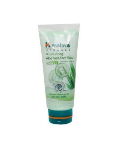 Himalaya Moisturizing Aloe Vera Cucumber Face Wash Cream 50ml