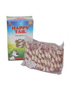 Happy Tail Mutton Spiral Chewsticks (900G)