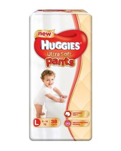Huggies Ultra Soft Pants Large Size Premium Diapers 38Pieces