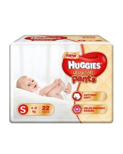 Huggies Ultra Soft Small Size Diaper Pants 22Pieces