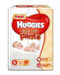 Huggies Ultra Soft Small Size Diaper Pants 50Pieces