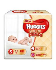 Huggies Ultra Soft Small Size Diaper Pants 80Pieces