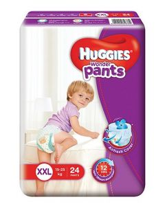 Huggies Wonder Pants Extra Extra Large Style Diapers 24Pieces
