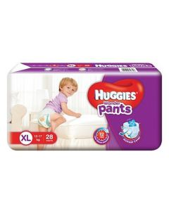 Huggies Wonder Pants Extra Large Pant Style Diapers 28Pieces