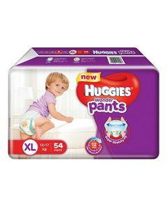 Huggies Wonder Pants Extra Large Style Diapers 54Pieces
