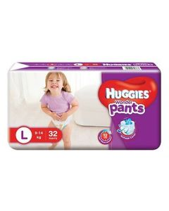 Huggies Wonder Pants Large Pant Style Diapers 32Pieces