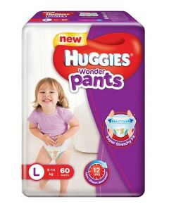 Huggies Wonder Pants Large Size Pant Style Diapers 60Pieces