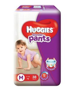 Huggies Wonder Pants Medium Pant Style Diapers 38Pieces