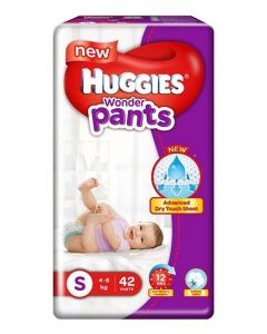Huggies Wonder Pants Small Pant Style Diapers 42Pieces