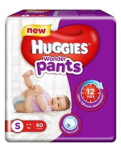 Huggies Wonder Pants Small Pant Style Diapers 60Pieces