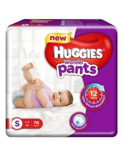 Huggies Wonder Pants Small Pant Style Diapers 76Pieces