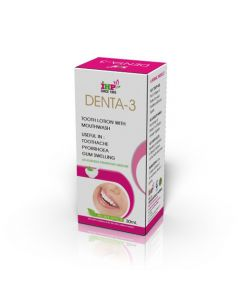 IHP Denta-3 (Tooth Lotion with Mouthwash) 30 ml