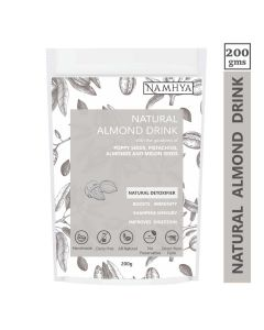 Namhya Natural Almond Drink (With the goodness of Poppy Seeds, Almonds and Melon Seeds) - 200gm
