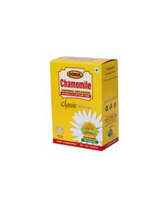 Gokul Chamomile Tea for Stress Relief, Good Sleep |Calming Tea | Caffeine Free | 30 Grams x Pack of 3, 20 Enveloped Infusions Per Pack)