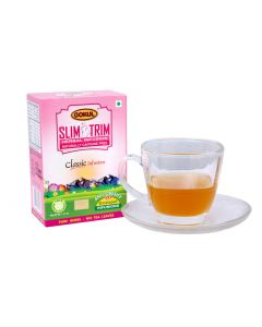 Gokul Slim Trim Tea for Weight Loss | Improves Metabolism | Weight Loss Tea Bag | Caffeine Free (30 Grams x Pack of 3, 20 Enveloped Infusions Per Pack)