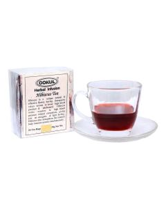 Gokul - Hibiscus Tea for Blood Pressure control | for Weight Loss |Caffeine free | Pure & Natural(30 Grams x Pack of 3, 20 Enveloped Infusions Per Pack)