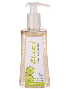 Zuci Citrus Lime Hand Sanitizer - 250ml