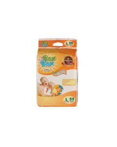 Bon Bon Disposable Baby Diapers Large Size (52 Count) - L  (52 Pieces)