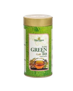 Nerogya Naturals Kangra Green Gold Tea with Herbs - 100g
