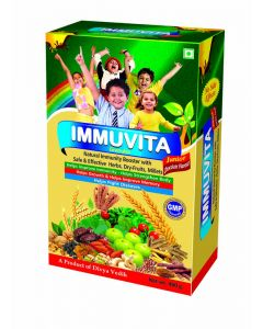 IMMUVITA Granules (Junior Chocolate Flavour) 400 gm Natural Immunity Booster