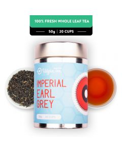 Udyan Tea Imperial Earl Grey Black Tea Tin 50 g