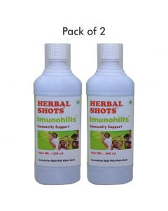 Imunohills Herbal Shots 500ml (Pack of 2)