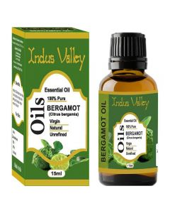 Indus Valley Bergamot Essential Oil - 15ml