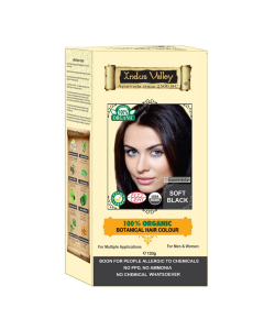 Indus Valley Botanical Soft Black Hair Color