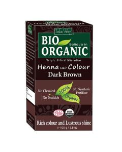 Indus Valley Dark Brown Henna Hair Color - 100g