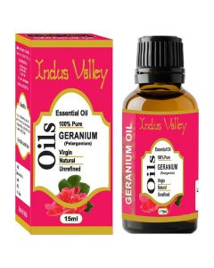 Indus Valley Geranium Essential Oil - 15ml
