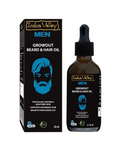 Indus Valley Growout Beard & Hair Oil - 60ml