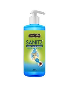 Indus Valley Instant Hand Cleaner Sanitizer With Blueberry Juice - 500ml