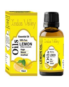 Indus Valley Lemon Essential Oil - 15ml