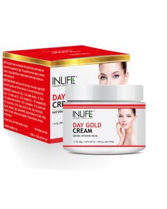 INLIFE Day Gold Face Cream - 50 g