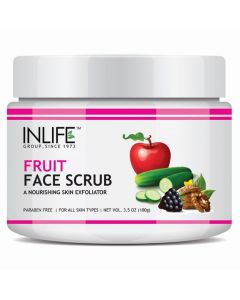 INLIFE Fruit Face Scrub Paraben Free - 100 g
