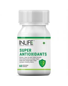Inlife Super Antioxidants Immuno Booster Immune Care Supplement – 60 Veg Capsules