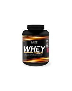 INLIFE Whey Protein Powder 5 lbs (Strawberry Flavor) Body Building Supplement