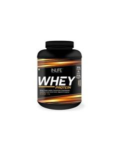 Inlife Whey Protein Powder blend of Isolate Hydrolysate Concentrate Bodybuilding Supplement Whey Protein (2 kg chocolate)